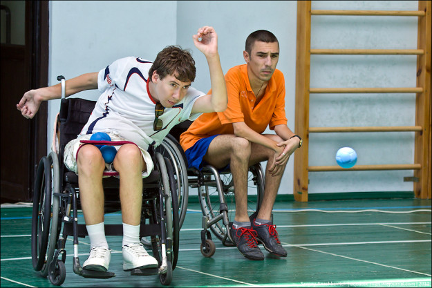Виктор Белочук бочча, Open Cup of Sevastopol on the Paralympic boccia, 16-17 June 2012