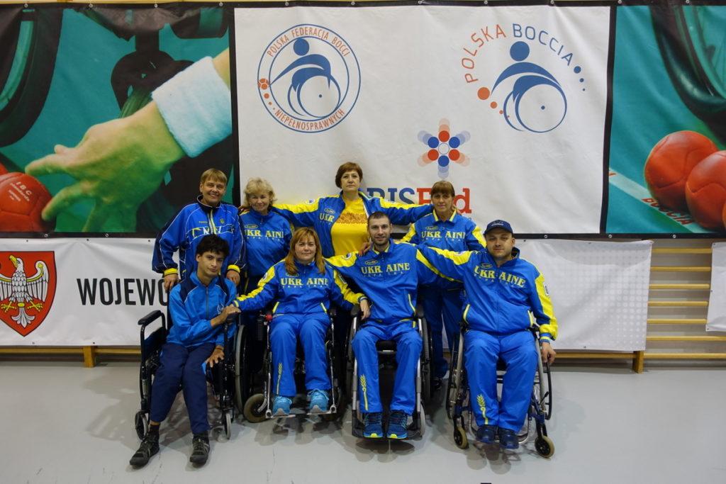 Ukraine boccia team