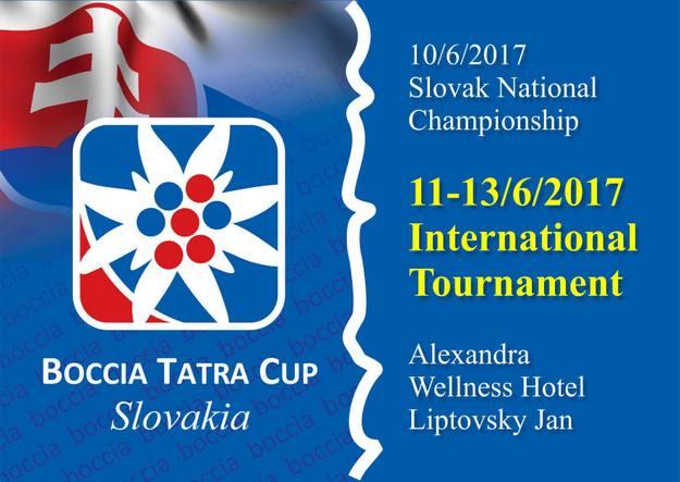 Boccia Tatra Cup 2017 Logo