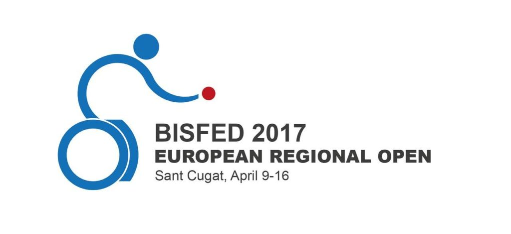 BISFed 2017 European Regional Open Sant Cugat logo