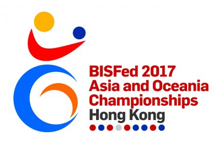 Логотип чемпионата Азии по бочча 2017 Гонконг