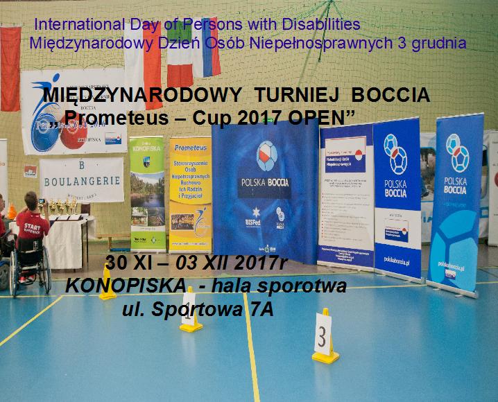 Prometeus Cup 2017 Open
