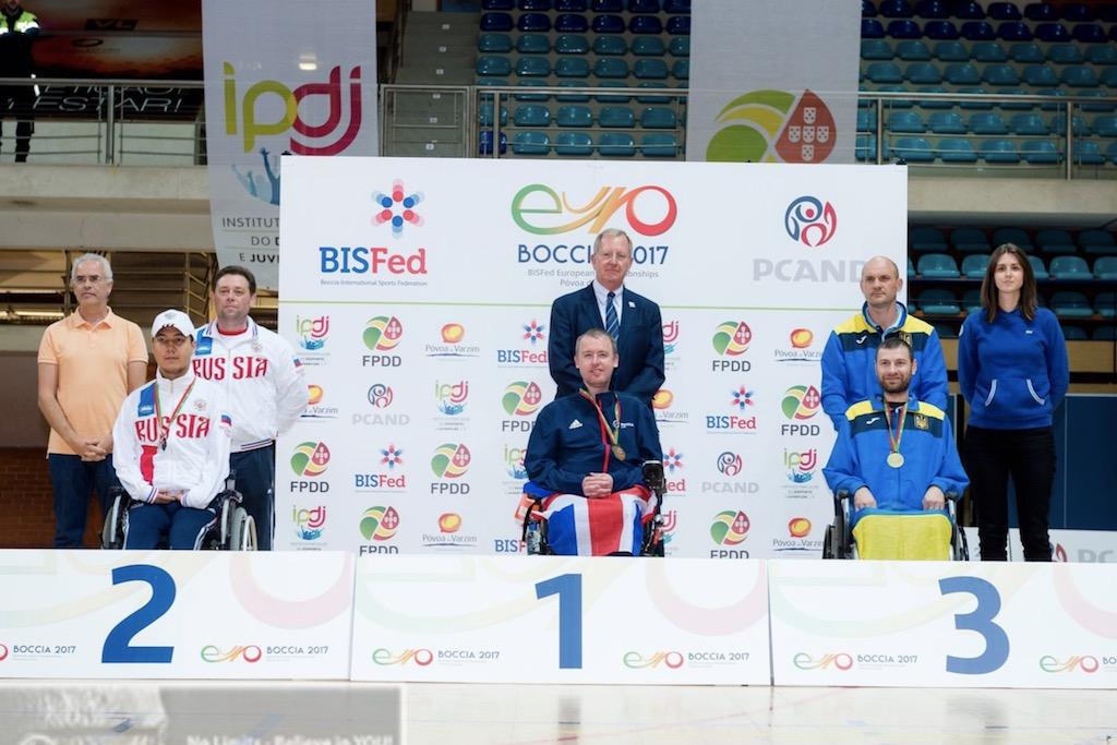 Артем Колинько - бронзовый призер Чемпионата Европы по бочча 2017 года
