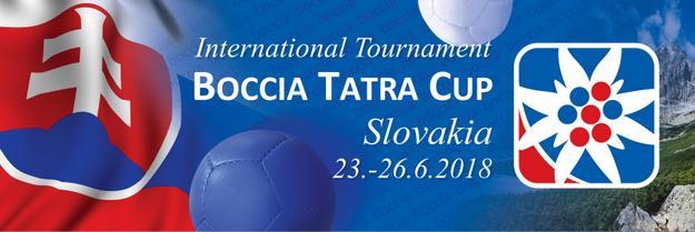 логотип Boccia Tatra Cup 2018