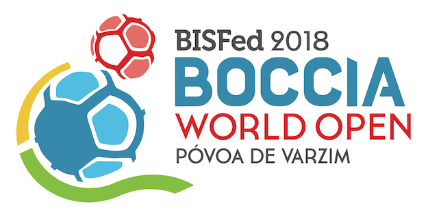 BISFed 2018 Povoa Boccia World Open Logo