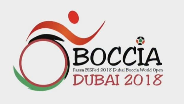 BISFed 2018 Dubai Boccia World Open logo
