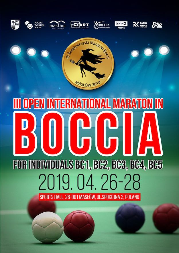 III Świętokrzyski Maraton Bocci logo