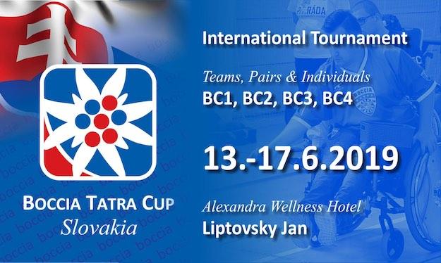 Баннер Boccia Tatra Cup 2019