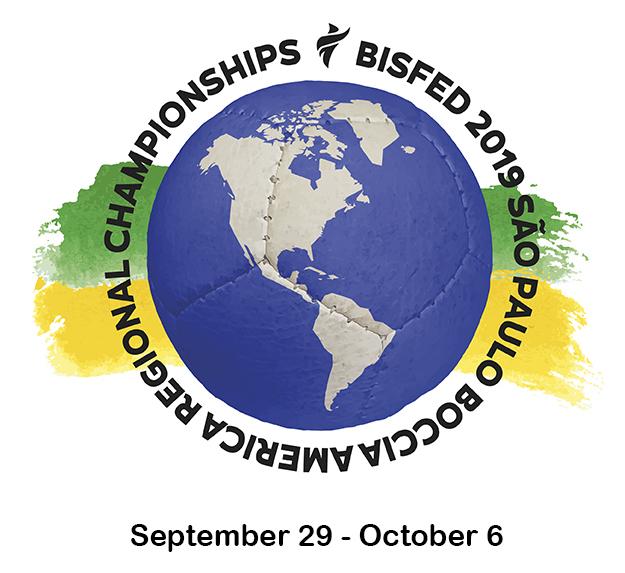 BISFed 2019 São Paulo Boccia America Regional Championships logo