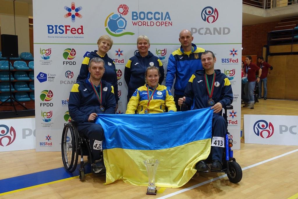 сборная Украины по бочча в Повоа-ди-Варзин 2019