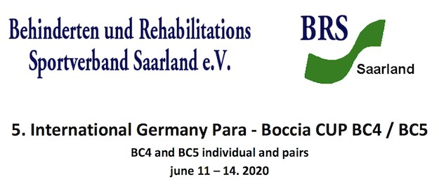 5th International Germany Para - Boccia CUP BC4/BC5