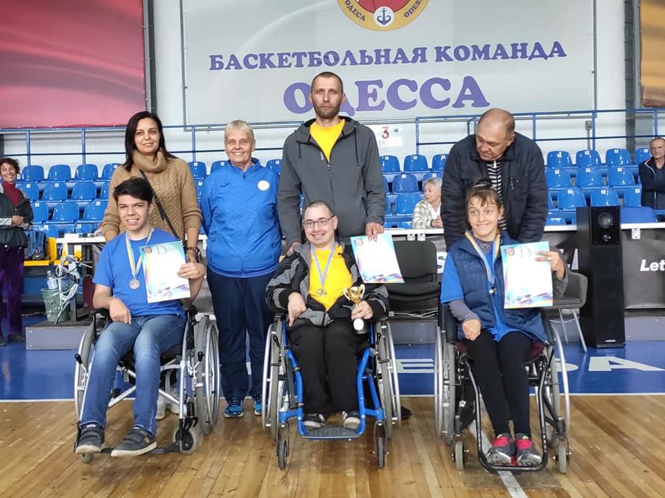Призеры Кубка Украины 2019 в классе BC1