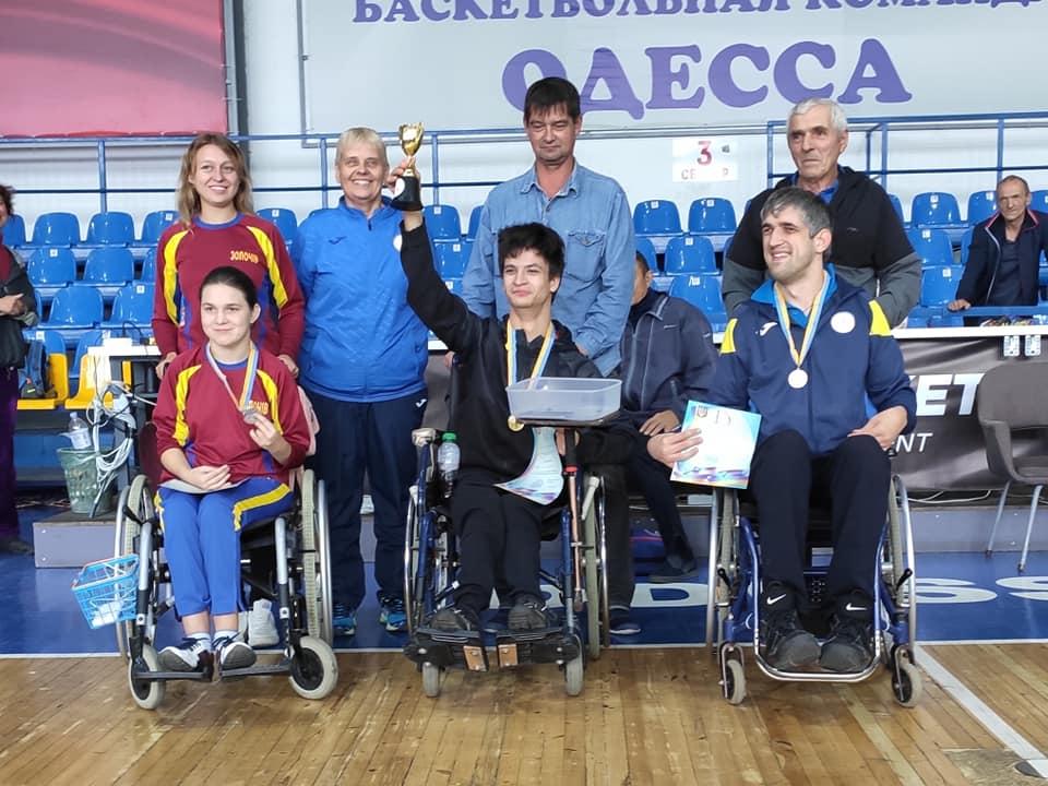 Призеры Кубка Украины 2019 в классе BC2