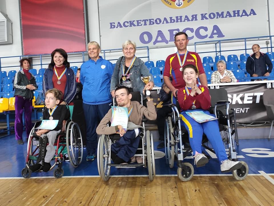 Призеры Кубка Украины 2019 в классе BC3