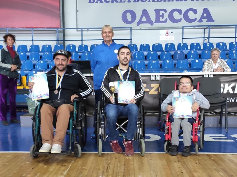 Призеры Кубка Украины 2019 в классе BC5