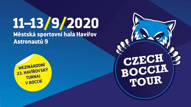 23rd Tournament in boccia in Havířov 2020 logo