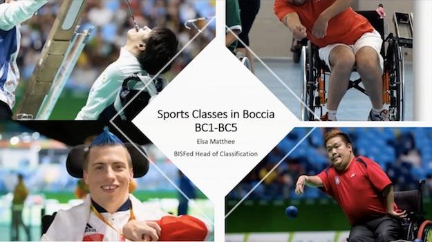 Классификация в бочча BC1-BC5